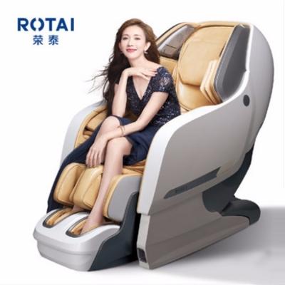 荣泰8600S按摩椅全自动家用全身豪华太空舱按摩椅电动按摩沙发