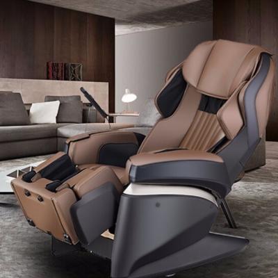富士(FUJIIRYOKI) 按摩椅 4D原装进口家用太空舱JP1000 棕色