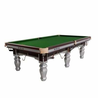 星牌台球桌 美式落袋中式黑八台球桌 成人标准尺寸桌球台 XW117-9A