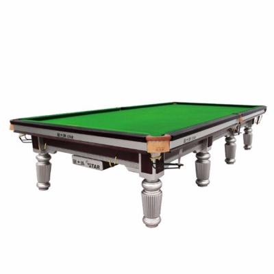 英式斯诺克台球桌 成人用标准尺寸桌球台 XW102-12S