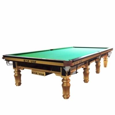 星牌台球桌 英式斯诺克台球桌 标准尺寸桌球台XW101-12S