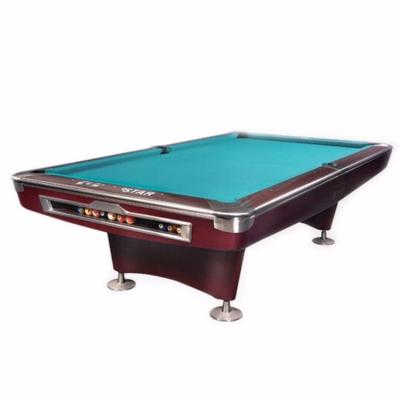 星牌台球桌 美式九球台球桌 花式九球桌球台 XW136-9B 标准尺寸