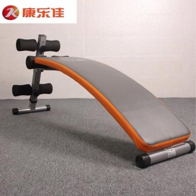 康乐佳仰卧板103B商用腹肌锻炼加大加宽弧形健腹板