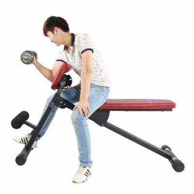 康乐佳 腹肌板仰卧板罗马椅二头肌哑铃凳椅健腹板K1107-2