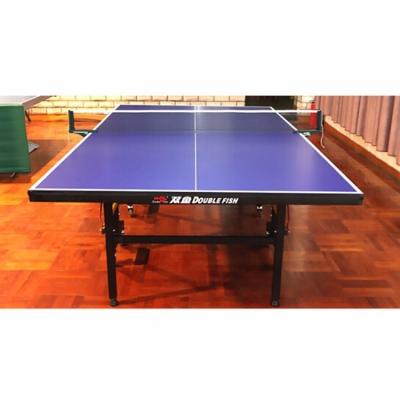 雙魚乒乓球臺 室內標準203乒乓球桌 201A 比賽訓練家用201 帶輪可折疊可移動 201A
