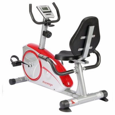 康乐佳健身车KLJ-8601R家用卧式磁控静音运动器材