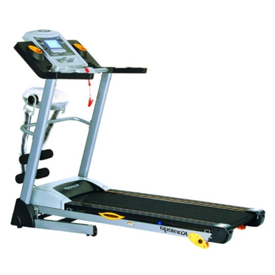 康乐佳 跑步机家用静音折叠多功能健身器材K542C-1 多功能跑步机带音乐